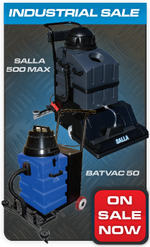 Industrial Cleaning Equipment and Vacuum Machines
